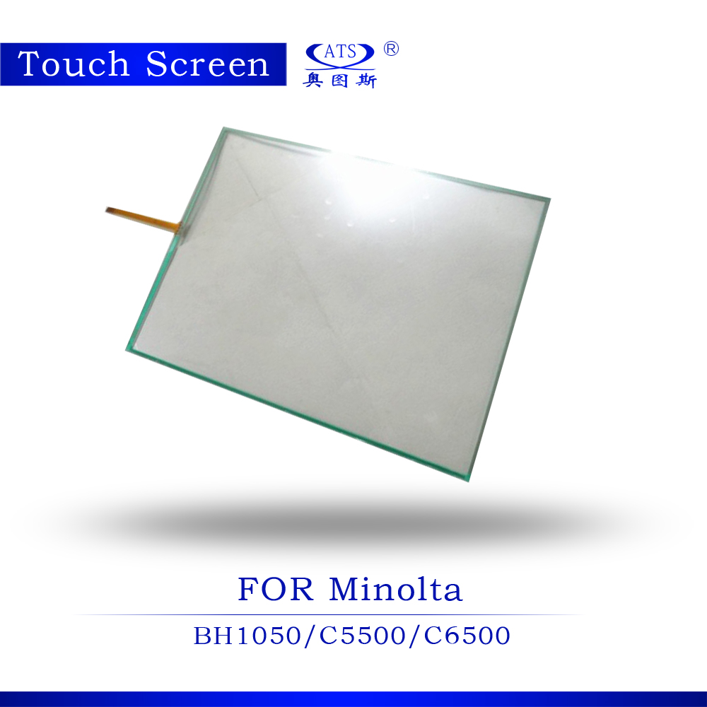 10PCS Photocopier part Touch Screen For Minolta BH1050 C5500 C6500 Copier parts touch screen panel Copier Machine high quality copier spare parts for konica minolta bh223 bh423 touch panel touch screen 5pcs lot