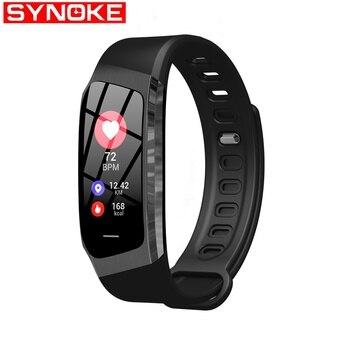 SYNOKE Smart Watch Women Heart Rate Blood Pressure Waterproof Womens Watch Bluetooth Watches Womens Wristwatches Women Watches