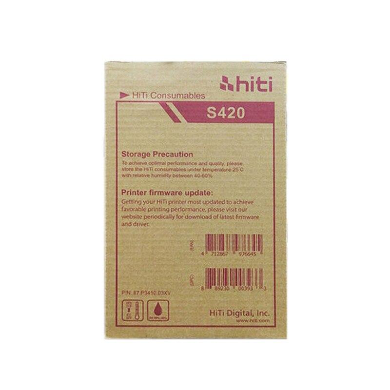 50pcs/bag Printer Photo Paper Used For HITI Photo Printer S420 Printing Paper
