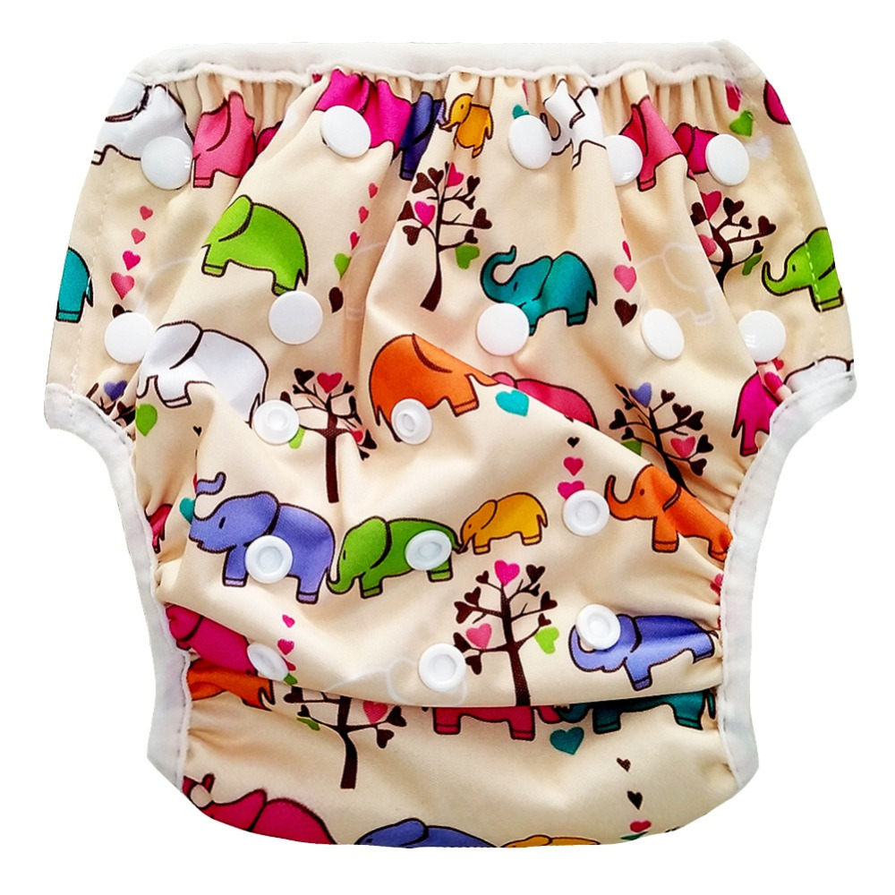 Swim Adjustable Diapers Neborn Swimsuit Baby Waterproof Swimwear Wwimming Pool