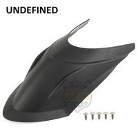 Black Motorbike Accessories Front Fender Extender Mudguard For BMW R1200GS 2013 2017 ADV 2014 2015 2016
