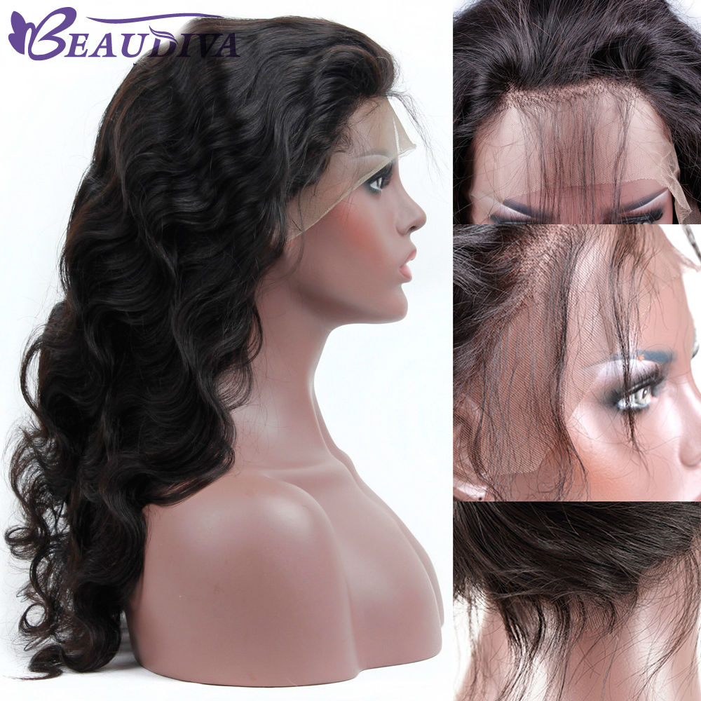 Brazilian Lace Front Human Hair Wigs For Black Women With Baby Hair Lace Front Wig Remy Hair Pre Plucked Hairline Bleached Knots