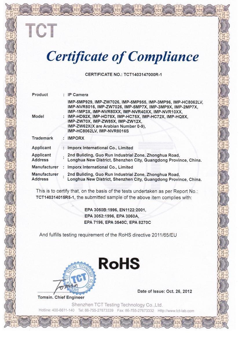 imporx-ROHS