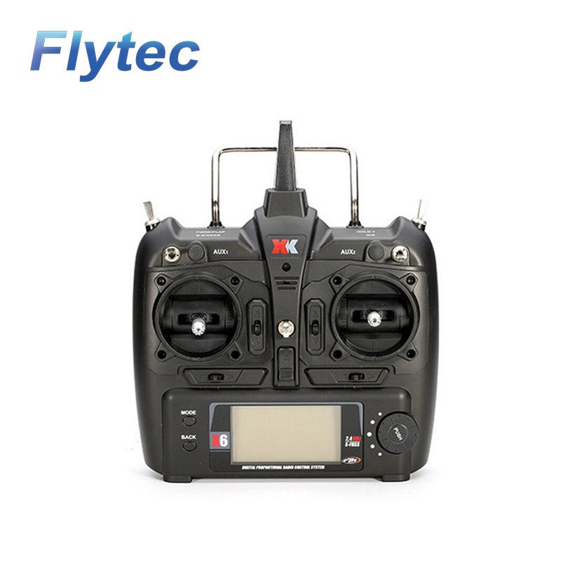 XK X6 Transmitter Remote Controller Spare Parts for K120 K100 K110 K123 K124 X350 RC Quadcopter modern cx 10 rc quadcopter spare parts blade propeller jan11