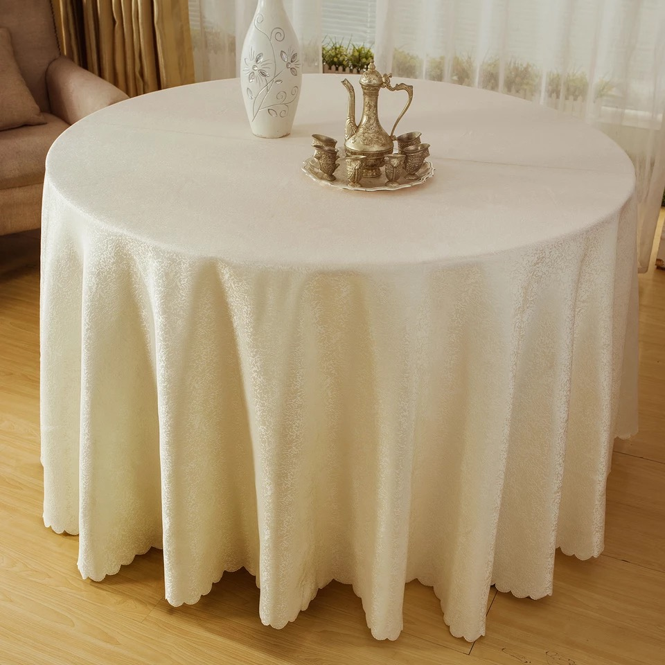 Free shipping by DHL 3MTR x10pcs Hotel Restaurant TABLECLOTH LINEN SEAMLESS POLYESTER WEDDING BANQUET TABLE CLOTH MULTI LISTING