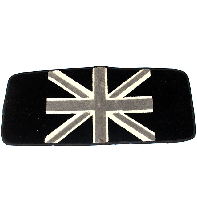 Awesome Brand New Trunk Cargo Mat High Quality Plush Black Union Jack Style UV  Protected Mini Cooper