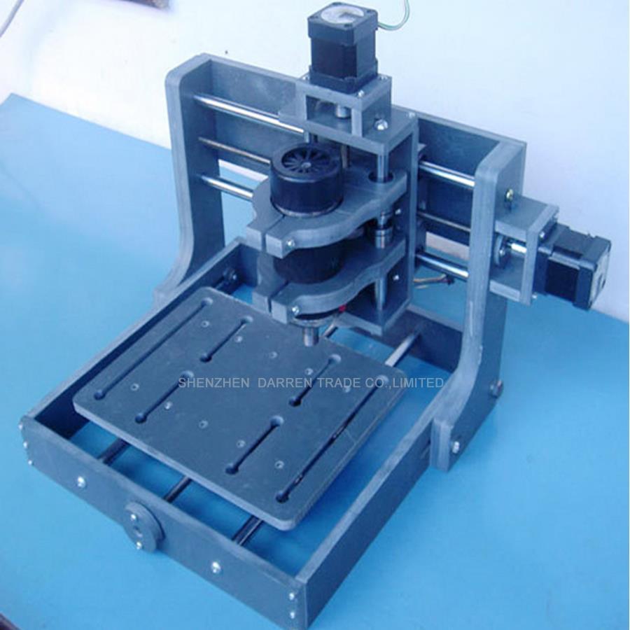 1tk DIY CNC puulõige mini graveerimismasin PVC veskigravüüri tugi - Puidutöötlemisseadmed - Foto 2