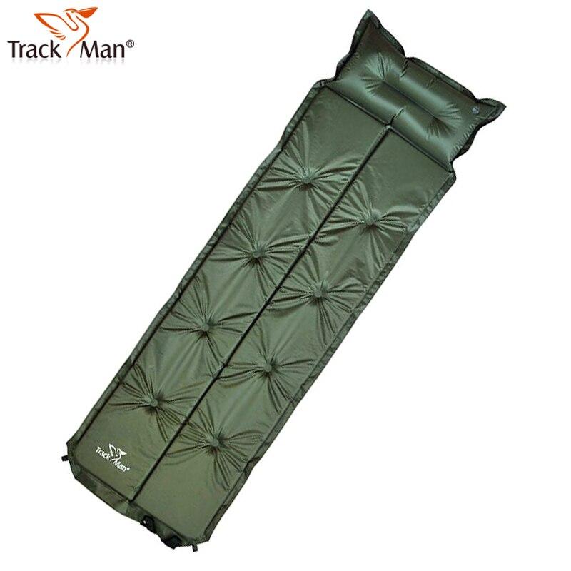 Pique-nique Camping tapis Artesanato Trackman extérieur coussin gonflable simple Patchwork automatique étanche à l'humidité Pad Double couchage