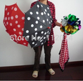 Polka Dot Silk & conjuntos paraguas - truco de magia, magia de fuego, juguetes clásicos