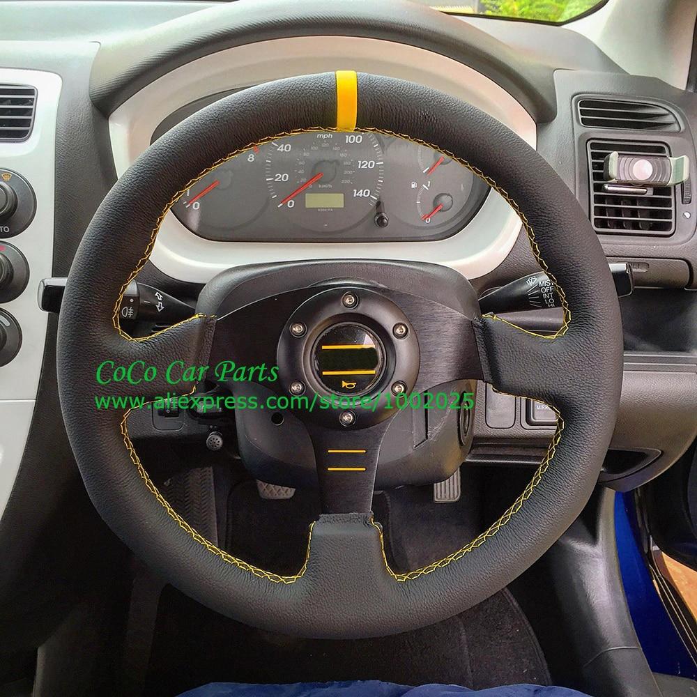 13 inch flat car steering wheel play steering wheel with for Benetton 4 wheel steering