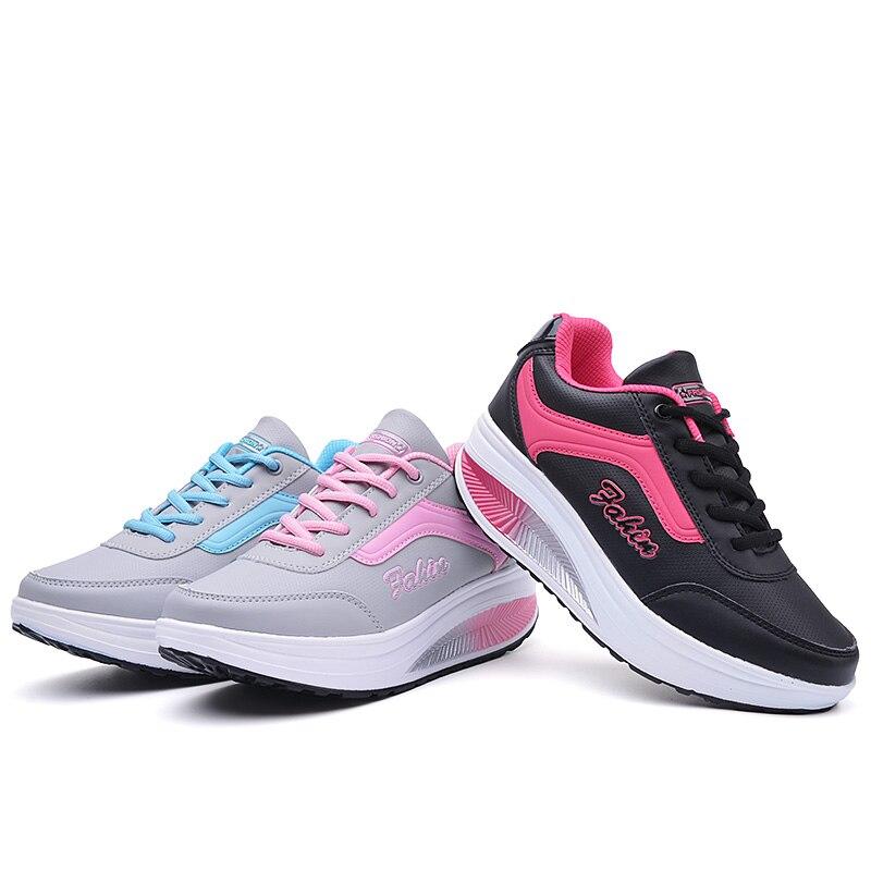 Зимние дешевые кроссовки женские легкий на платформе прогулочная спортивная  обувь женские фитнес-качели-качалка обувь кроссовки   Кроссовки для бега с  ... ca6ee067e85
