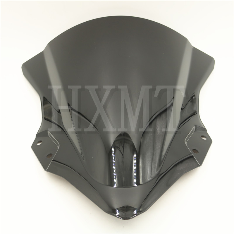For Kawasaki <font><b>Ninja</b></font> 250 <font><b>400</b></font> EX400 2018 2019 black motorcycl Windshield <font><b>WindScreen</b></font> Wind screen bike Ninja250 Ninja400 image