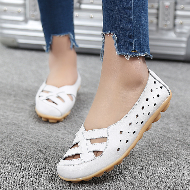PINSV 14 Colors Flats Shoes Woman Loafers Slip On Women Shoes Espadrilles Oxford Shoes For Women