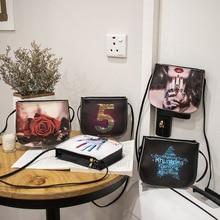 Women handbag mini bag woman sling black female Fashion Hit Color Shoulder Messenger Satchel Tote Crossbody Bag