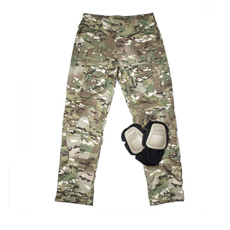 2019 Multicam MC G3 Combat 3D Pants CP Tactical Pants Ripstop MC Cargo Pants CP With Knee Pads