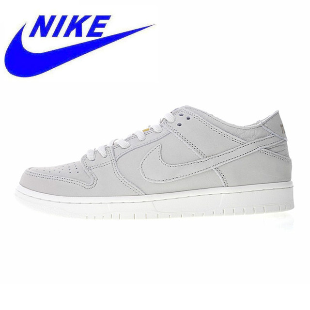 new styles 11181 991db US $86.19 49% OFF|Original NIKE SB DUNK LOW PRO PRO RUN PRO Men's Walking  Shoes , White, Lightweight Breathable Wear resistant AA4275 001-in Walking  ...
