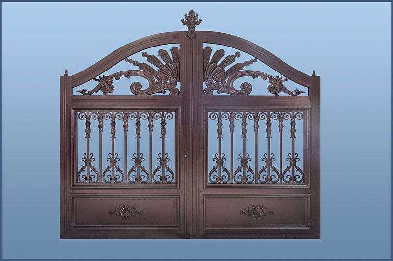 Home aluminium gate design / steel sliding gate / Aluminum fence gate designs hc-ag30