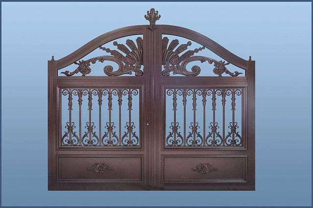 Dodatkowe Projekt aluminiowej bramy domowej/stalowa brama przesuwna SI63