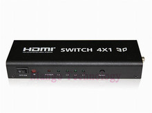 New Converter 4 port HDMI Switch 4×1 Switcher Adapter Support Audio 3D Video 720p 1080i 108 High Quality