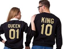 King Queen Long Sleeve T-Shirt