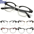 FOENIXSONG 2017 Vintage Retro Men Women Eyeglasses Brand New Black Frame Reader Clear Lens Reading Glasses Female Eyewear SK3086
