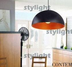 Dia 30 cm średnica 40 cm  skygarden aluminium lampa wisząca metalowe oświetlenie podwieszane nowoczesny design złoty srebrny kolor pokój dzienny jadalnia