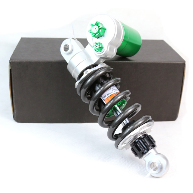 Motorcycle Single Rear Shock Absorber Double Adjustment 250mm Eye To