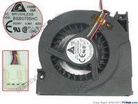 Delta BSB0705HC 8Z02 DC 5V 0.36A Big Server Cooler Fan