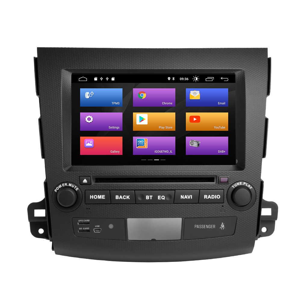 Josmile 2Din Android 9,0 reproductor Multimedia de coche para Mitsubishi Outlander 2 3 20072008 2009 2010 2011 unidad de cabeza de DVD de Audio