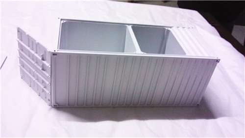 CNC Milling Tool Compartment Case Enclosure Plastic Rapid Prototyping Manufacturer, CNC machining