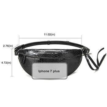 Snake Pattern Belt Bags  5