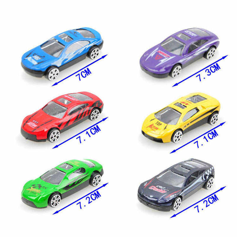 Children's toy 7cm Random Style Mini Diecast Alloy Car Model Kids boys' Free wheels Vehicle Colletion Decoration
