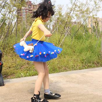 2020 New Arrival niemowlę Mulity kolorowe tiulowa spódnica Tutu Pom Pom księżniczka Mini sukienka dzieci odzież Pettiskirt dziewczyna ubrania tanie i dobre opinie zcaynger Nowość CN (pochodzenie) Pasuje prawda na wymiar weź swój normalny rozmiar Poliester Patchwork Łuk dress Powyżej kolana Mini