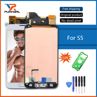 100 Original Super AMOLED For Samsung Galaxy S5 LCD Display Touch Screen Digitizer I9600 SM G900
