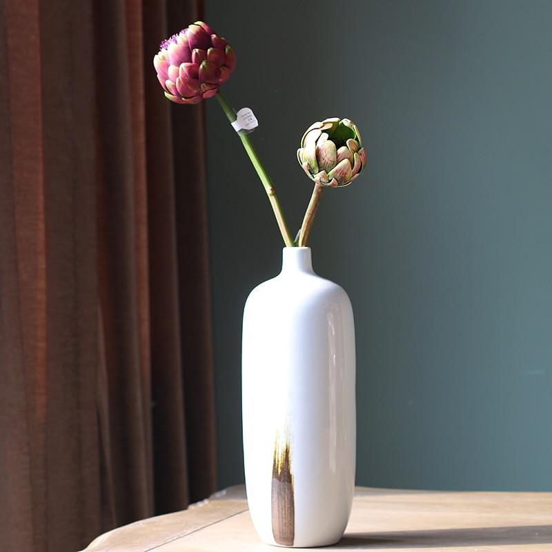 Artificial Fake Flower Bush Bouquet Home Wedding Decor China Mainland