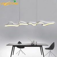 Led Chandelier Lighting Lustre Modern Lamp Aluminium Hanging Light Living Room Bedroom Kitchen Bar Restaurant Ceiling