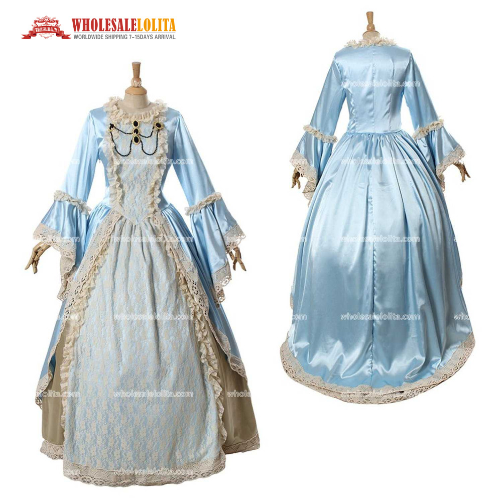 Top Sale Women\'s Rococo Ball Gown Gothic Victorian Dress Costume-in ...