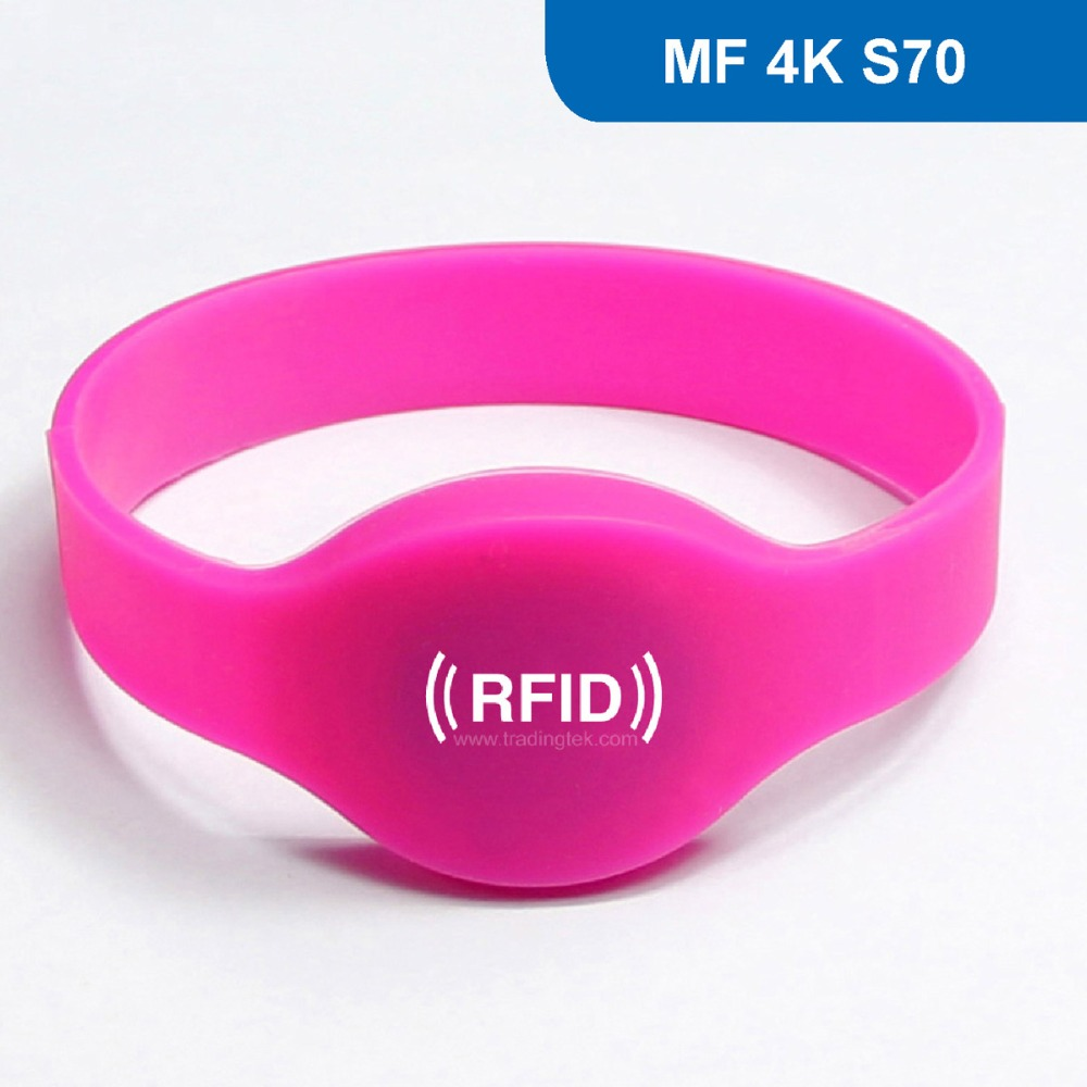 WB01 Silicone RFID Wristband for Access Control and health club, RFID Bracelet 13.56MHZ 4KBYTE R/W ISO14443A with  MF 4k S70 furniture drawer handles wardrobe door handle and knobs cabinet kitchen hardware pull gold silver long hole spacing c c 96 224mm