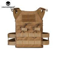 emersongear Emerson Combat Tactical Vest Warrior JPC Plate Carrier Protoctive Body Armor Molle Lightweight Mini Vest Airsoft Chi