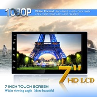 7 inch Touch Screen Bluetooth Car Video Player Android 8.1 Multimedia Player MP5 Player USB FM Radio GPS Navigation