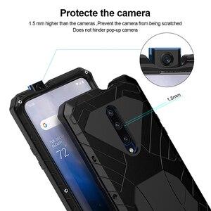 Image 4 - Cho Oneplus7 7Pro Điện Thoại Ốp Lưng Dày Vỏ Giáp Bảo Vệ Vỏ Kim Loại Chống Rơi Nhôm Ốp Lưng Cho OnePlus 7T 7T Pro