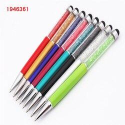 Модная 098 кристальная ручка круглая сенсорная ручка для планшета для смартфона планшета для школы офиса Шариковая Ручка