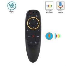 Ratón de aire de giroscopio inalámbrico, Control remoto por voz, 2,4G, G10S PRO, Bluetooth, G10BTS, para H96 Max, Android TV Box