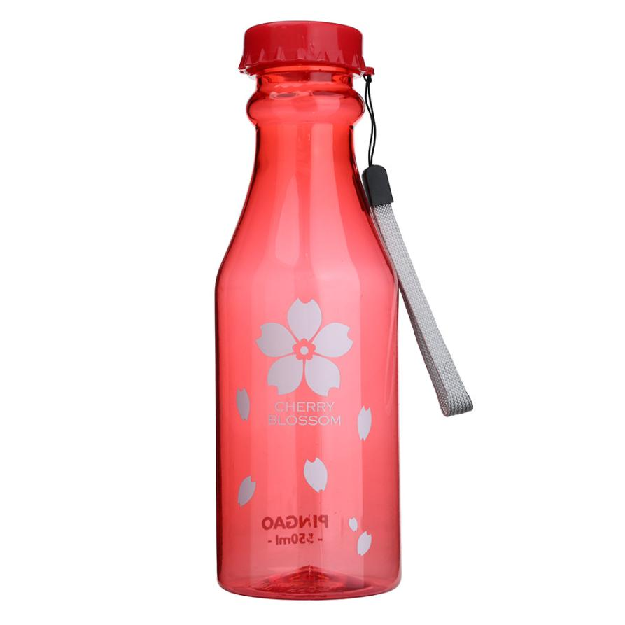Saingace House Lc New Outdoor Sports Travel Water Bottle Portable Leak-proof Camping Water 550ML 17Aug29 Dropshipping