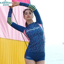 Sunscreen Waterproof mother Swimsuit Split Female clothing Surfing suit Beach clothes Swimsuit