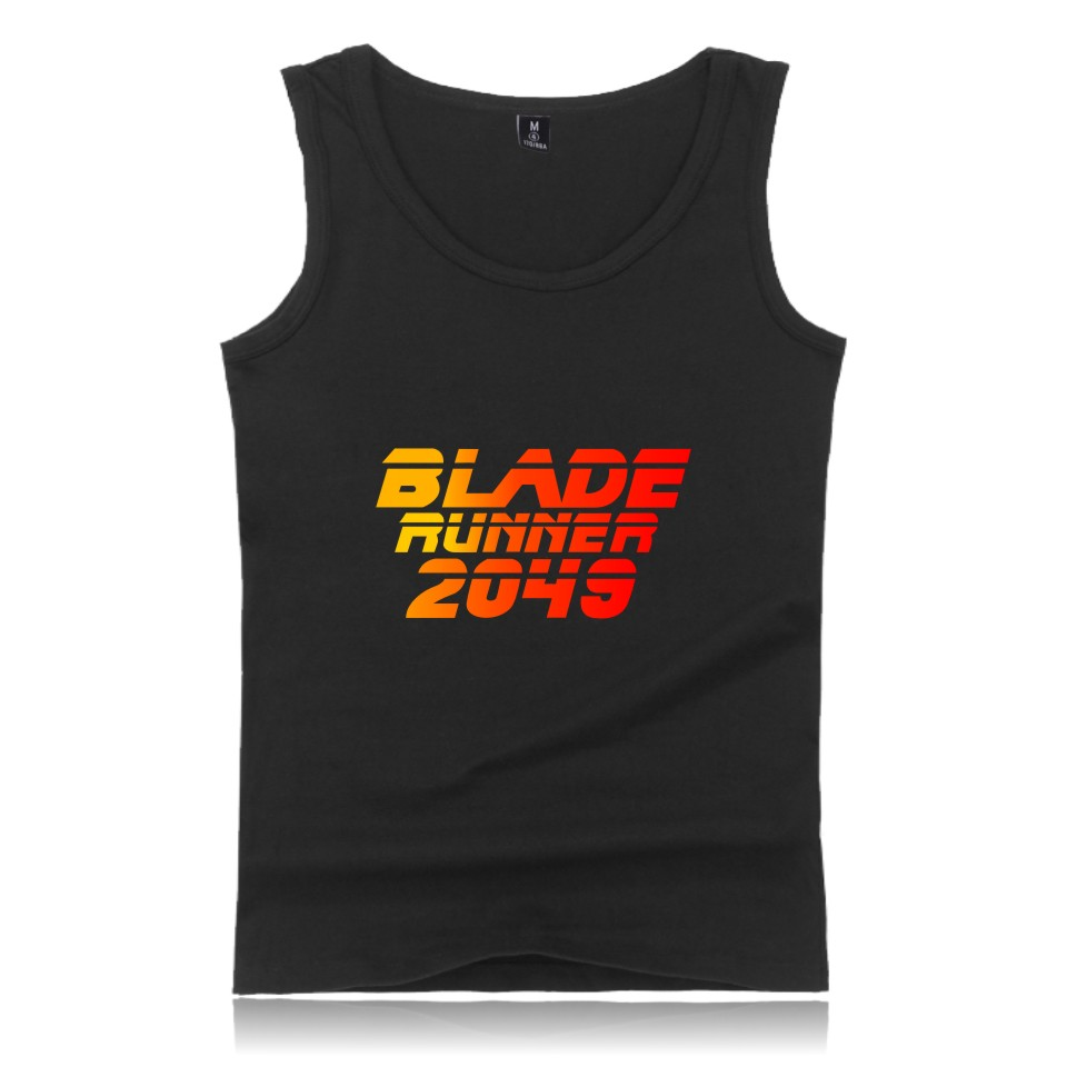 Blade runner Tank Tops New Summer Style Coton Tee Shirt men t shirt slim fit printed bodybuilding men's T-shirts Blade runner