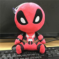 2016 Bonito Mini Deadpool Marvel Película Suave Felpa Muñeca de Juguete Figura 20 CM Juguetes Para Niños de Regalo