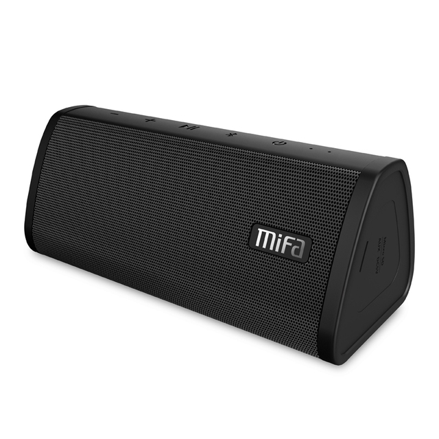MIFA A10 Bluetooth speaker wireless portable stereo sound big power 10W system MP3 music audio AUX with MIC for android iphone