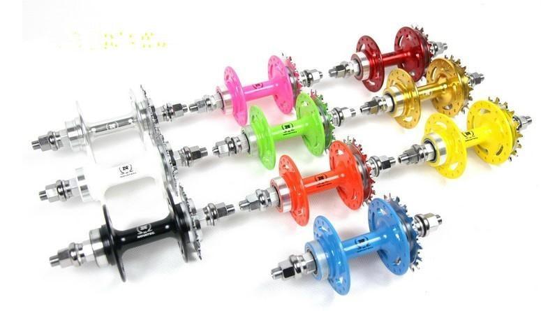 Nouveau vélo multicolore piste vélo vélo cyclisme roulement roue moyeu 32 trou avant moyeu 565, le moyeu arrière 566
