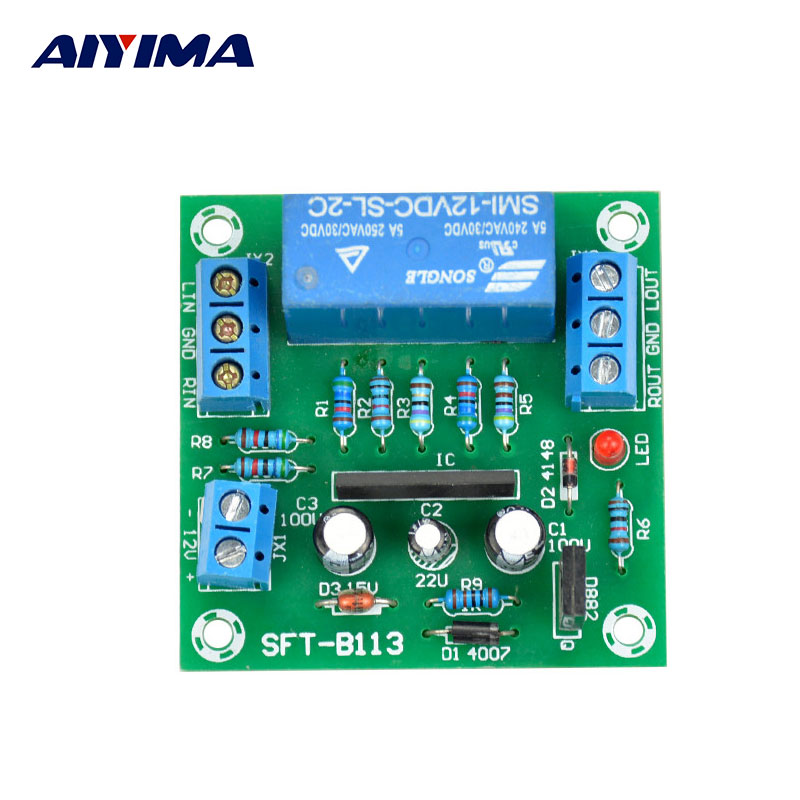 UPC1237 Amp Speaker Protection Circuit Protective Board Speaker Delay Switch DC Protection αυτοκολλητα τοιχου καθρεπτησ